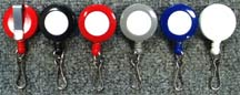 ../rt/RT-05 Retractable Name Badge Reels with Spring Hooks for Badge holders or Badge clips