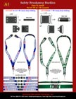 Safety ID Lanyards Hardware Accessories: Industrial Safety Breakaway Plastic Buckles or Plastic Connectors with How to Make Lanyard Instruction